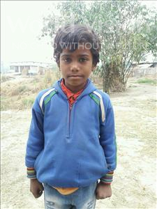 Choose a child to sponsor, like this little girl from Vaishali, Suhani age 8