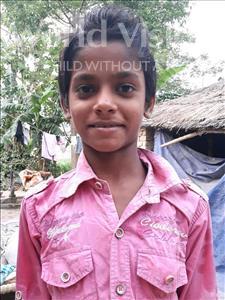 Choose a child to sponsor, like this little boy from Vaishali, Prashant age 8