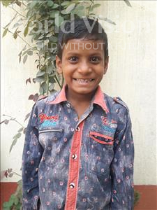 Choose a child to sponsor, like this little boy from Vaishali, Pawan age 9