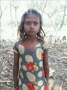 Choose a child to sponsor, like this little girl from Vaishali, Anidhi age 7