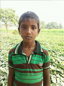 Choose a child to sponsor, like this little boy from Vaishali, Arvind age 10