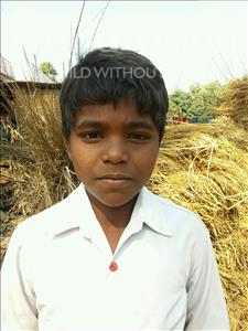 Choose a child to sponsor, like this little boy from Vaishali, Vikky age 12