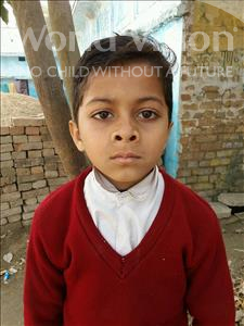 Choose a child to sponsor, like this little boy from Vaishali, Sohel age 9