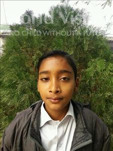 Choose a child to sponsor, like this little boy from Vaishali, Subham age 9
