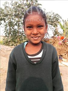 Choose a child to sponsor, like this little girl from Vaishali, Roshni age 8