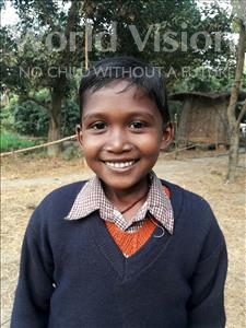 Choose a child to sponsor, like this little girl from Vaishali, Anjali age 7
