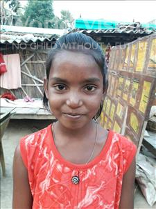 Choose a child to sponsor, like this little girl from Vaishali, Putul age 8