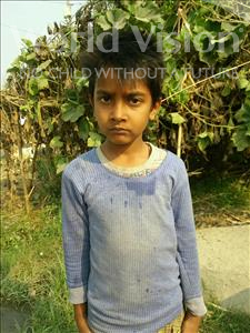 Choose a child to sponsor, like this little boy from Vaishali, Ujjawal age 6