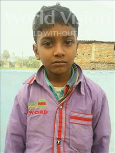 Choose a child to sponsor, like this little boy from Vaishali, Bittu age 9