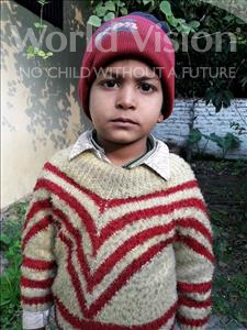 Choose a child to sponsor, like this little boy from Vaishali, Aniket age 6