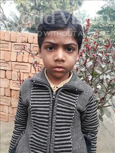 Choose a child to sponsor, like this little boy from Vaishali, Laxman age 6
