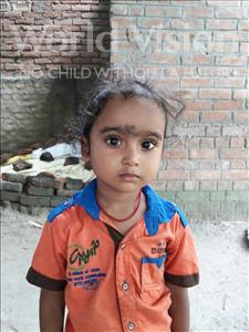 Choose a child to sponsor, like this little boy from Vaishali, Himanshu age 3