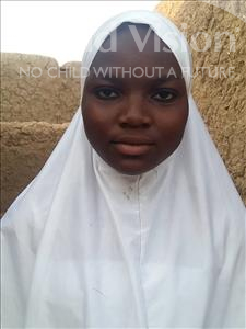 Choose a child to sponsor, like this little girl from Sirba, Fati age 11