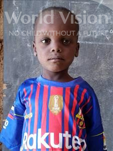 Choose a child to sponsor, like this little boy from Sirba, Lamine age 6
