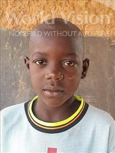 Choose a child to sponsor, like this little boy from Sirba, Zakou age 10