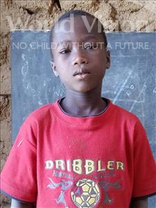 Choose a child to sponsor, like this little boy from Sirba, Abdoul Haiyou age 8