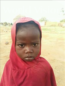 Choose a child to sponsor, like this little girl from Sirba, Oumamatou age 3