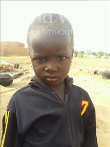 Choose a child to sponsor, like this little boy from Sirba, Abouba Anif age 4