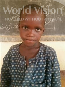 Abdoulhalim, aged 7, from Niger, is hoping for a World Vision sponsor