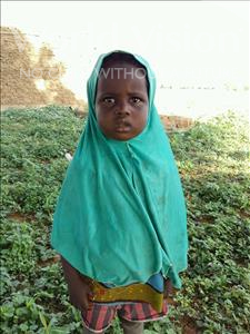 Choose a child to sponsor, like this little girl from Sirba, Roumana age 4