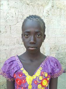 Choose a child to sponsor, like this little girl from Mbella, Adama age 12