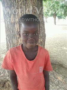 Choose a child to sponsor, like this little boy from Mbella, Djiby age 9