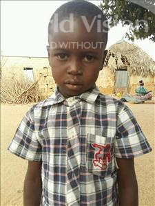 Choose a child to sponsor, like this little boy from Mbella, Mohamed age 6