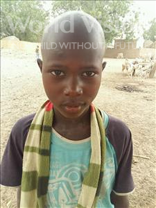 Choose a child to sponsor, like this little boy from Mbella, Daouda age 11