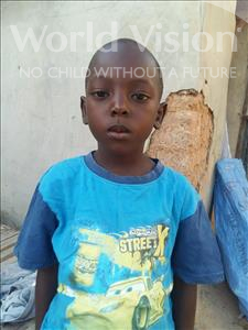 Choose a child to sponsor, like this little boy from Mbella, Idrissa age 6