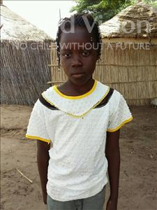 Choose a child to sponsor, like this little girl from Mbella, Coumba Gora age 10