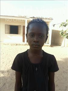 Choose a child to sponsor, like this little girl from Loul, Nafissatou age 8