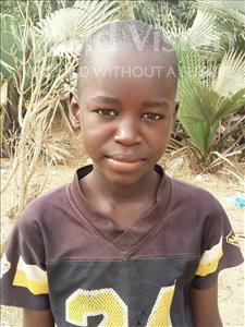 Choose a child to sponsor, like this little boy from Loul, Ablaye Doky age 12