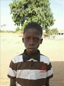 Choose a child to sponsor, like this little boy from Loul, Aliou Sombel age 12