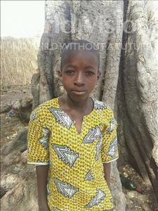 Choose a child to sponsor, like this little boy from Loul, Moustapha age 12