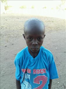 Choose a child to sponsor, like this little boy from Loul, Lademba age 8