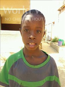 Choose a child to sponsor, like this little boy from Loul, Serigne Fallou age 8