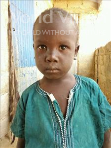 Choose a child to sponsor, like this little boy from Loul, Mouhamed age 5