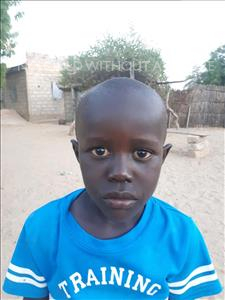 Choose a child to sponsor, like this little boy from Loul, Issa age 4