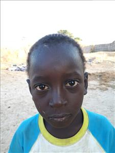 Choose a child to sponsor, like this little boy from Loul, Mame Cheikh age 4
