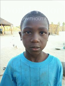 Choose a child to sponsor, like this little boy from Loul, Pierre Guirane age 8