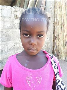 Choose a child to sponsor, like this little girl from Loul, Khady age 7