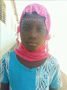 Choose a child to sponsor, like this little Girl from Loul, Mariama age 7