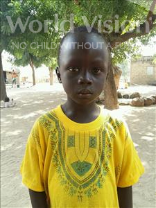 Choose a child to sponsor, like this little boy from Loul, Malick age 5