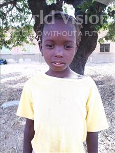 Choose a child to sponsor, like this little girl from Loul, Beatrice age 8