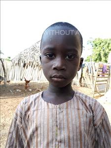Choose a child to sponsor, like this little Boy from Loul, Khokhane age 6