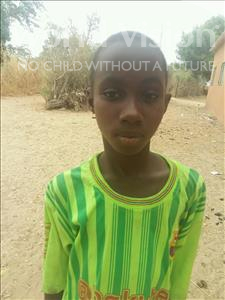 Choose a child to sponsor, like this little girl from Loul, Ephigeni age 10