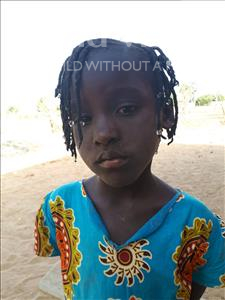 Choose a child to sponsor, like this little girl from Loul, Benedicte Dibe age 5