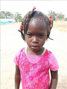 Choose a child to sponsor, like this little girl from Loul, Marie Michel age 3