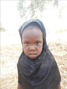 Choose a child to sponsor, like this little girl from Loul, Anna Sambatew age 4