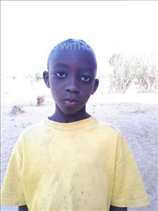 Choose a child to sponsor, like this little boy from Loul, Gregoire age 9